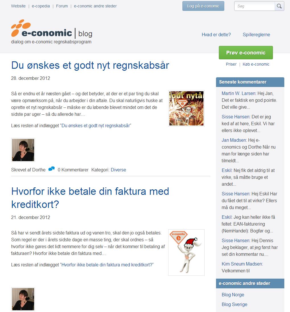 e-conomoc.dk blog om regnskabsprogrammet